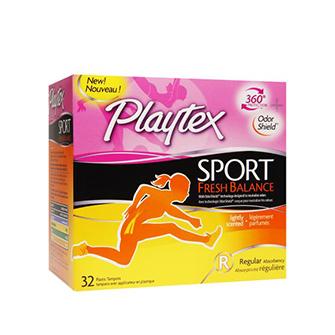 Tampones Playtex Sport Fresh Balance
