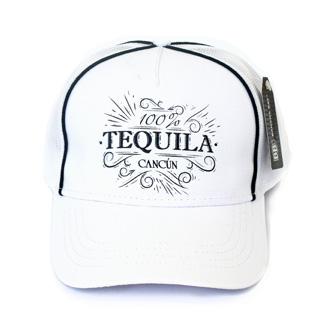 Gorra 100 % Tequila Blanco Cc