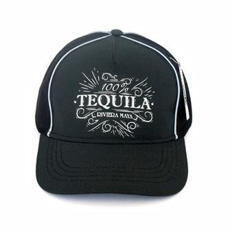 Gorra 100 % Tequila Negro Rm